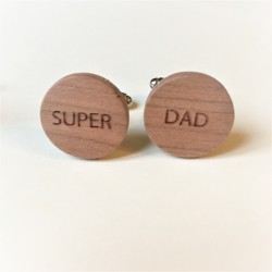 Manchetknopen SUPER DAD Kersen