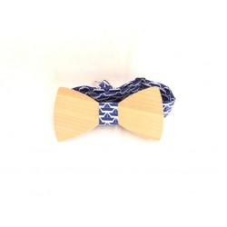Kersen - blauw/wit